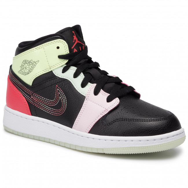 Volt Basse 076 Donna Scarpe barely Black Sneakers Mid SegsAv5174 Jordan ember Glow 1 Air Nike xCeWordB
