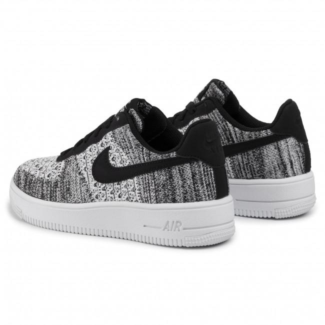 Nike Air Force 1 Flyknit 2.0 blackpure platinum black white