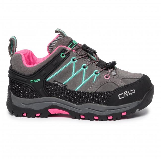 Scarpe da trekking CMP Kids Rigel Low Trekking Shoes Wp 3Q13244 GraffiteAuqa Mint