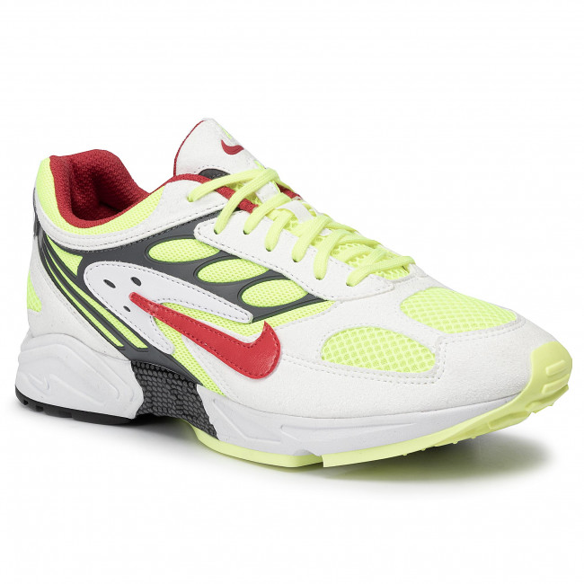Scarpe NIKE - Air Ghost Racer AT5410 100 White/Atom Red/Neon Yellow