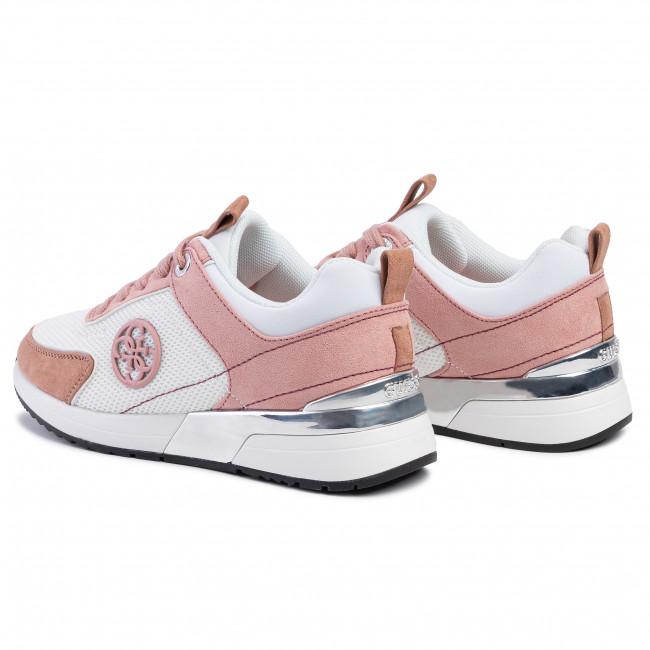 Sneakers Guess - Marlyn 4 Fl5mr5 Fab12 White/pink Scarpe Basse 6pkc3