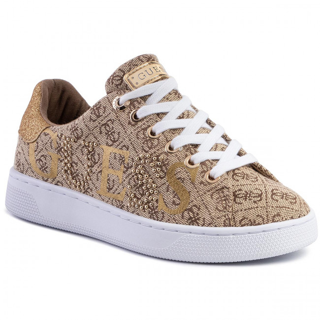 Sneakers GUESS Riderr3 FL5RD3 FAL12 BEIGEBROWN