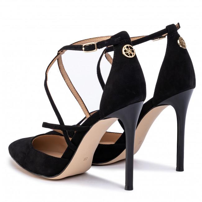 Scarpe stiletto GUESS - Claudie 2 FL5CL3 SUE08 BLACK - Stiletti - Scarpe basse - Donna