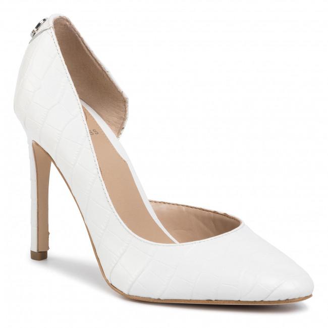 Scarpe stiletto GUESS - Tedson3 FL5TS3 LEP08  WHITE
