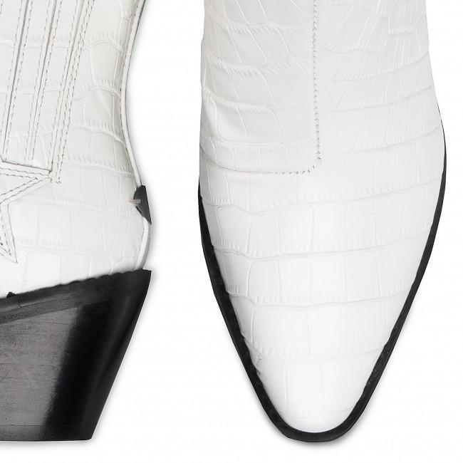 Tronchetti GUESS - Nea FL5NEA LEP10 WHITE - Tronchetti - Stivali e altri - Donna