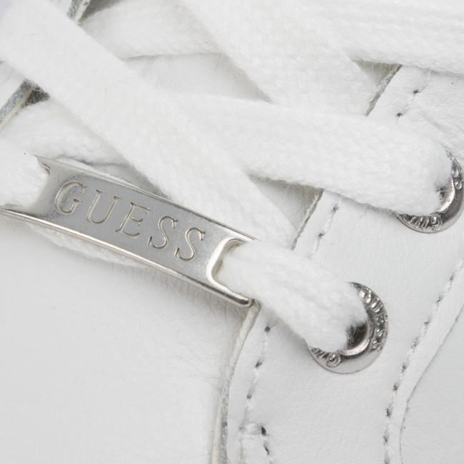 Sneakers GUESS - Larry Hi FM5LRH LEA12 WHITE - Sneakers - Scarpe basse - Uomo