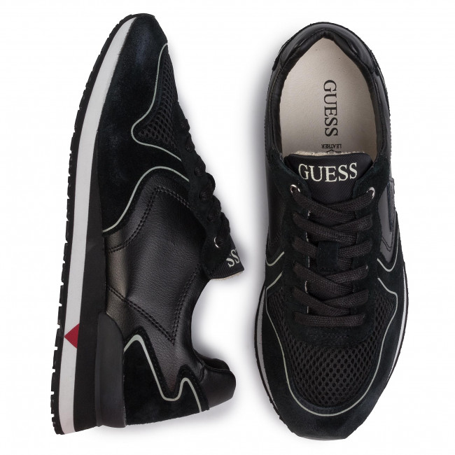 Sneakers GUESS - New Glorym FM5NGL LEA12 BLACK - Sneakers - Scarpe basse - Uomo