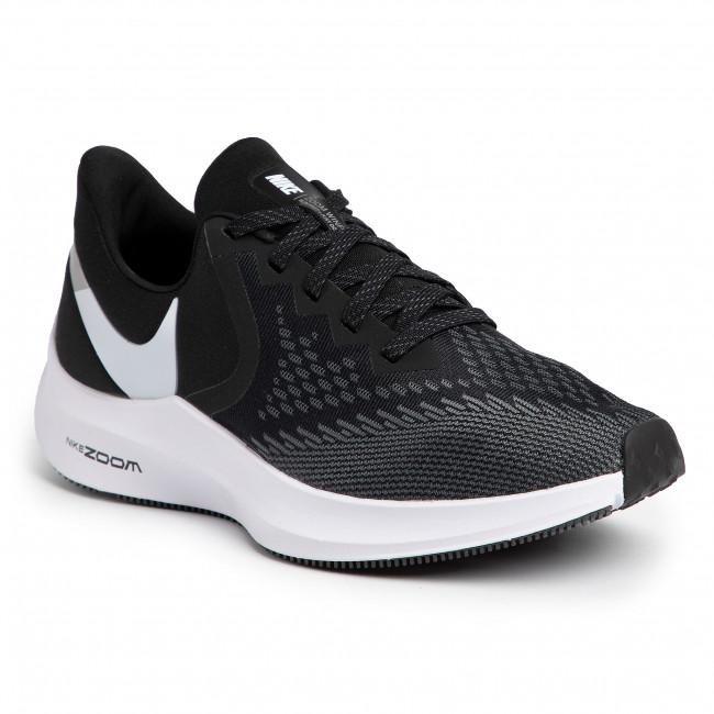 Nike Zoom Winflo 6 Scarpe da Running Uomo BlackWhite
