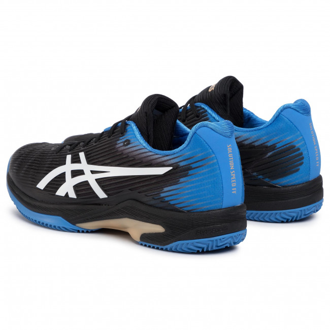 Scarpe ASICS Solution Speed Ff Clay 1041A004 BlackBlue Cost 012
