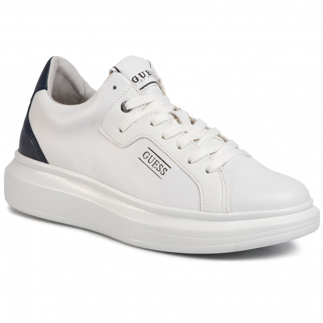 Uomo: Sneakers in pelle Salerno Guess BEIGE 41