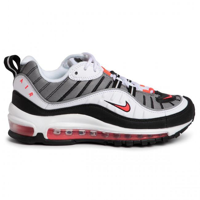 Scarpe NIKE - Air Max 98 AH6799 004 White/Solar Red/Dust - Sneakers - Scarpe basse - Donna