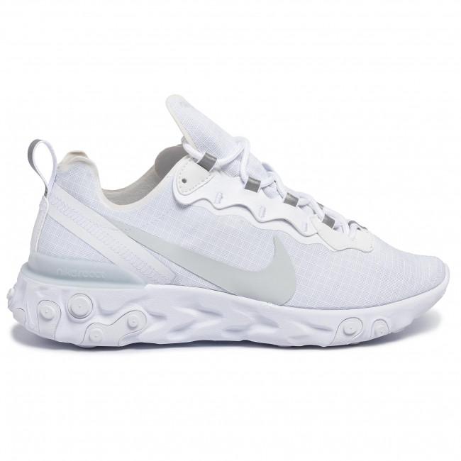Nike React Element 55 Bianche Scarpe BQ6167 101