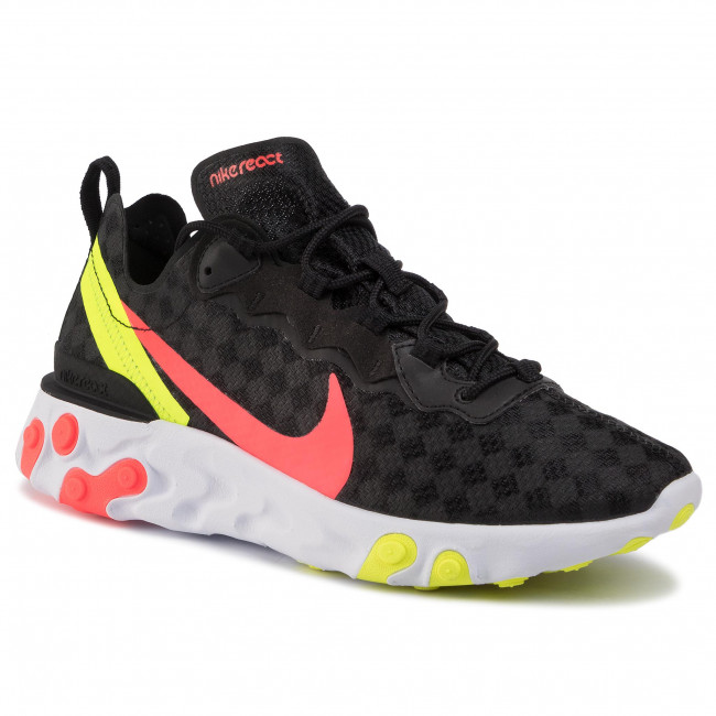Nike React Element 55 'Black Crimson' | CJ0782 001