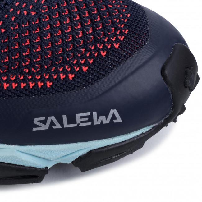 Scarpe SALEWA - Lite Train K 61349-3993 Premium Navy/Fluo Coral - Scarpe da trekking e scarponcini - Scarpe basse - Donna