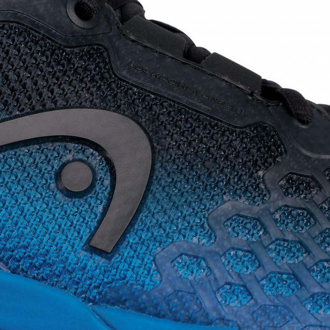 Scarpe HEAD - Revolt Pro 3.0 273120 Anthracite/Royal Blue 065 - Tennis - Scarpe sportive - Uomo