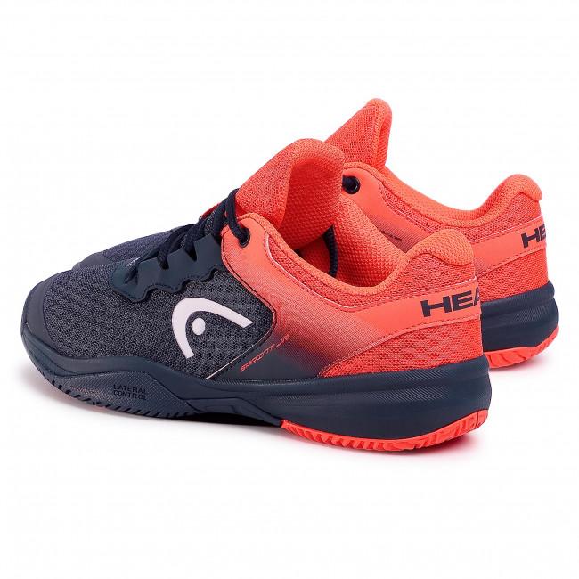 Scarpe HEAD - Sprint 3.0 275300 Midnight Navy/Neon Red 030 - Tennis - Scarpe sportive - Donna
