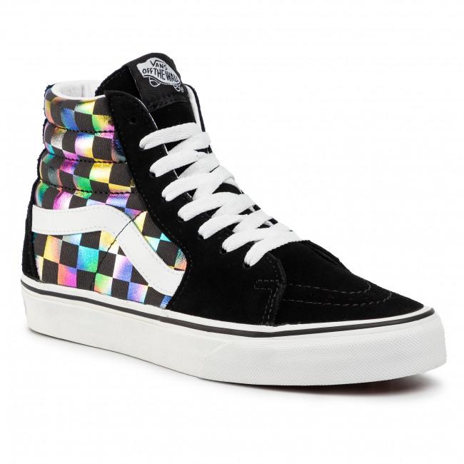 Sneakers VANS Sk8 Hi VN0A4BV6SRY1 (Iridescent Check) Blktrwt