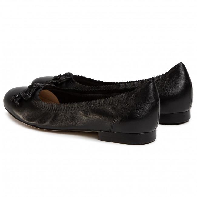 Ballerine CAPRICE 9 22105 24 Black Nappa 022