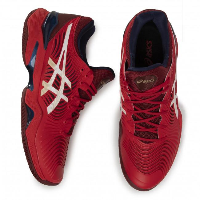 Scarpe ASICS - Court Ff 2 Clay 1041A082 Classic Red/White 600 - Tennis - Scarpe sportive - Uomo