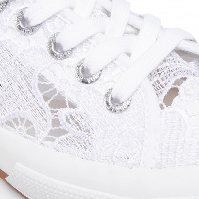 Scarpe sportive SUPERGA - 2750 Macramew S008YA0 White 900