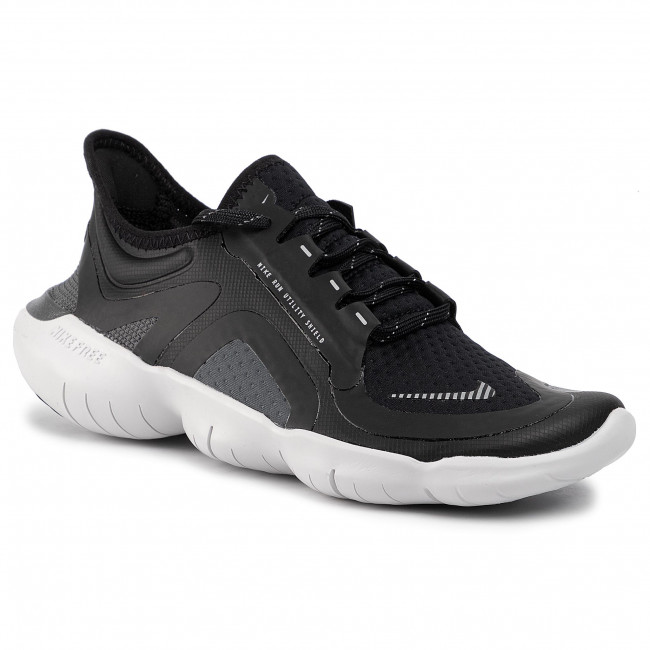 Scarpe NIKE Free Rn 5.0 Shield BV1224 002 BlackSilverCool Grey