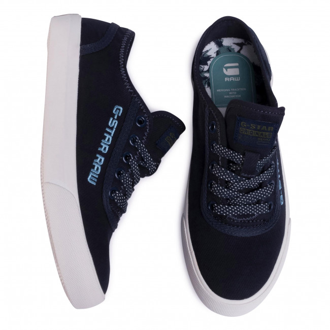 Scarpe sportive G-STAR RAW - Velv D16817-869-4213 Mazarine Blue - Scarpe da ginnastica - Scarpe basse - Donna