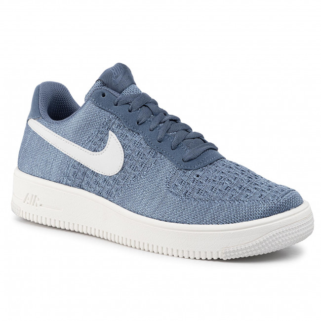 Scarpe NIKE Air Force 1 Flyknit 2.0 CI0051 400 Ocean Fog Summit White