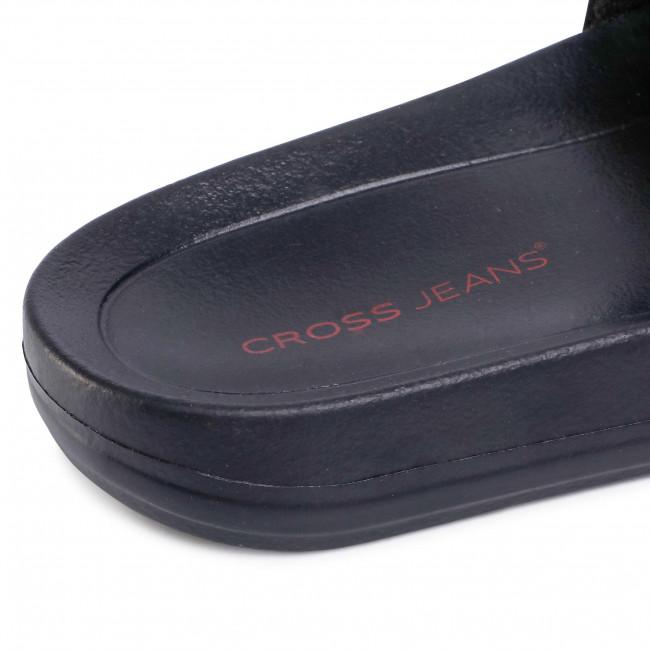 Ciabatte CROSS JEANS - FF2R4159C Black - Ciabatte da giorno - Ciabatte - Ciabatte e sandali - Donna