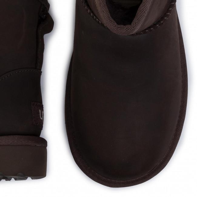 Scarpe UGG - W Classic Mini Leather 1016558 Cho - Ugg - Stivali e altri - Donna