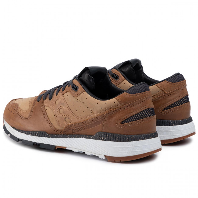 Sneakers SAUCONY - Azura Leather S70464-1 Brn - Sneakers - Scarpe basse - Uomo