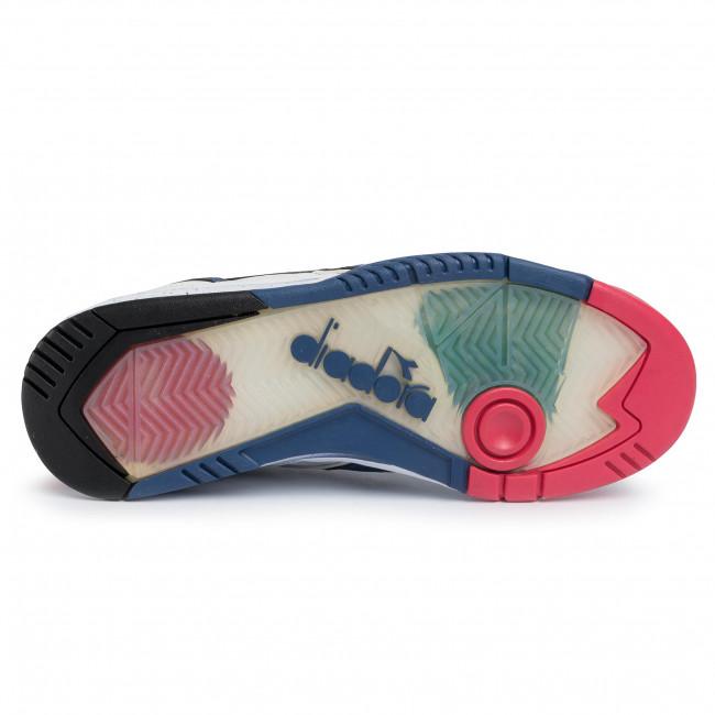 Sneakers DIADORA - Rebound Ace 501.173079 01 C8465 White/True Navy/Geranium - Sneakers - Scarpe basse - Uomo