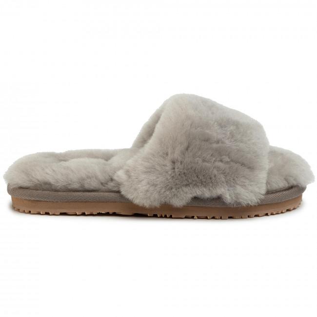 Ciabatte MOU - Sheepskin Fur Slide Slipper FW161001L Light - Ciabatte da giorno - Ciabatte - Ciabatte e sandali - Donna