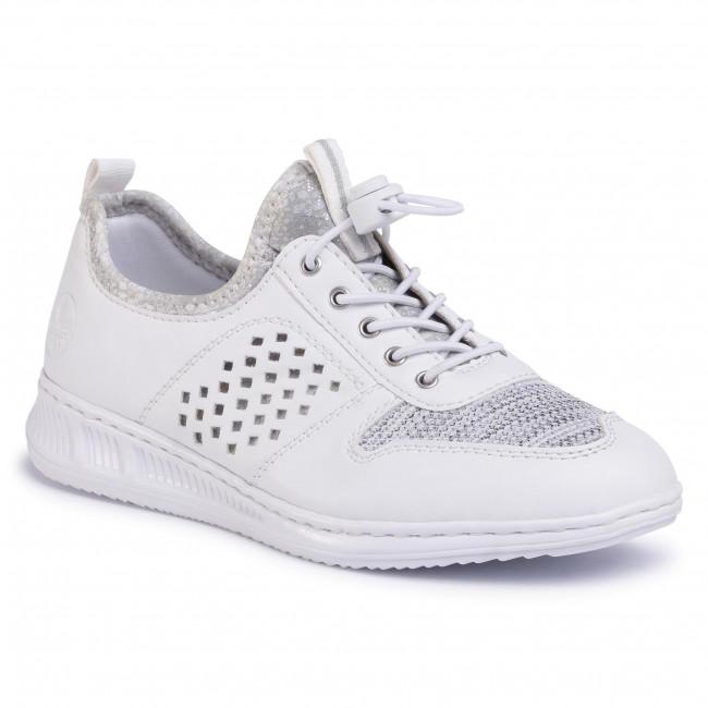 Sneakers RIEKER - N3178-80  Weiss