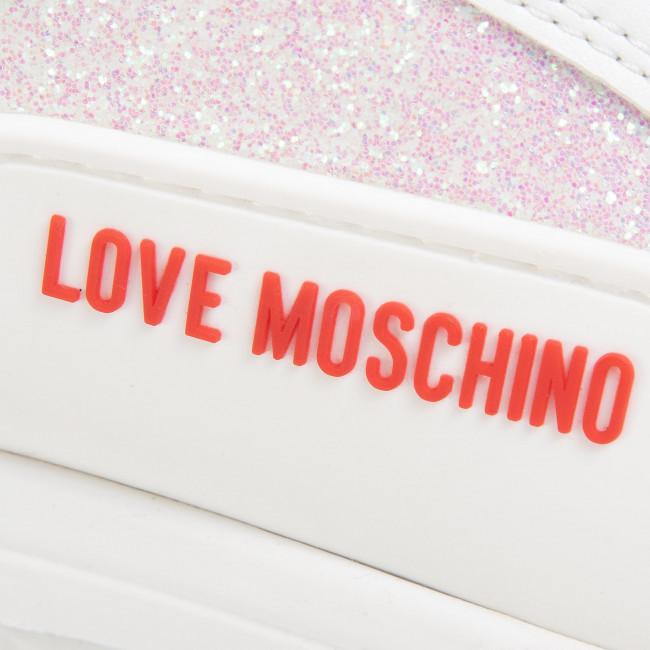 Sneakers LOVE MOSCHINO - JA15545G0AJS310A Bia/Bia/Ghi/Bi/Ar - Sneakers - Scarpe basse - Donna