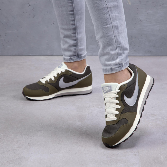 Scarpe NIKE - MD Runner 2 (GS) 807316 301 Sequoia/Wolf Grey/Olive Canvas - Sneakers - Scarpe basse - Donna