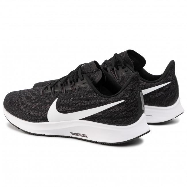 Scarpe NIKE - Air Zoom Pegesus 36 (4E) AQ2205 001 Black/White/Thunder Grey - Scarpe da allenamento - Running - Scarpe sportive - Uomo