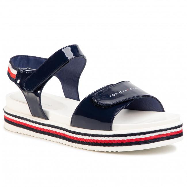 Sandali TOMMY HILFIGER Platform Velcro Sandal Blue T3A2 30650 0774 D Blue 800
