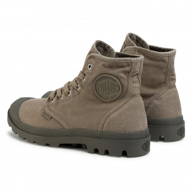 Scarponcini PALLADIUM - Pampa Hi 02352-308-M Dusky Green - Scarpe da trekking e scarponcini - Stivali e altri - Uomo