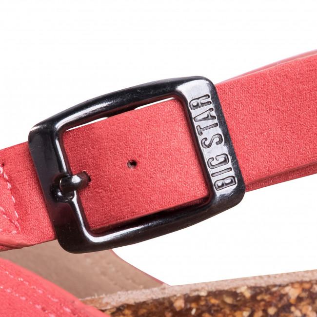 Espadrillas BIG STAR - FF274A129 Coral - Espadrillas - Ciabatte e sandali - Donna