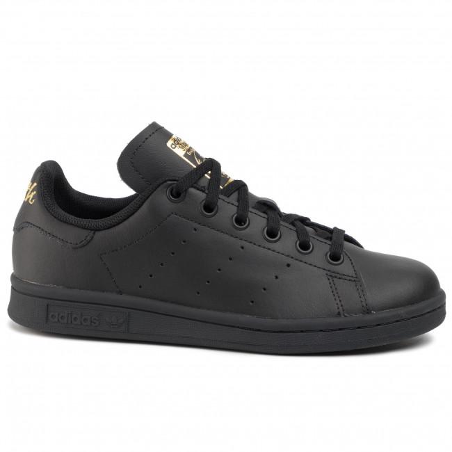 Scarpe adidas - Stan Smith J EF4914 Cblack/Cblack/Goldmt - Sneakers - Scarpe basse - Donna