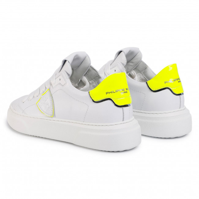 Sneakers PHILIPPE MODEL - Temple BYLD FV01 Neon Blanc Jaune - Sneakers - Scarpe basse - Donna