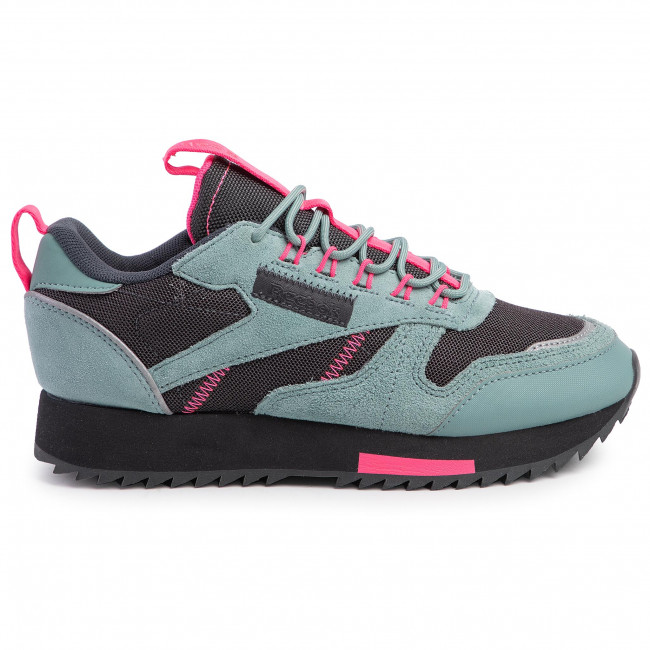 Scarpe Reebok - Cl Leather Ripple Trail EG5973 Grnsla/Trgry8/Sopink - Sneakers - Scarpe basse - Donna