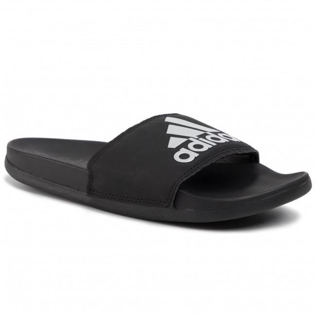 Ciabatte adidas - adilette Comfort G28386  Cblack/Silvmt/Cblck