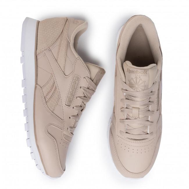 Scarpe Reebok - Cl Lthr Ef3256 Modbei/sandbe/white Sneakers Basse ZDOo6