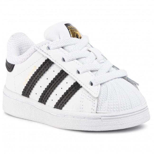 Scarpe adidas - Superstar El I FU7717 Ftwwht/Cblack/Ftwwht