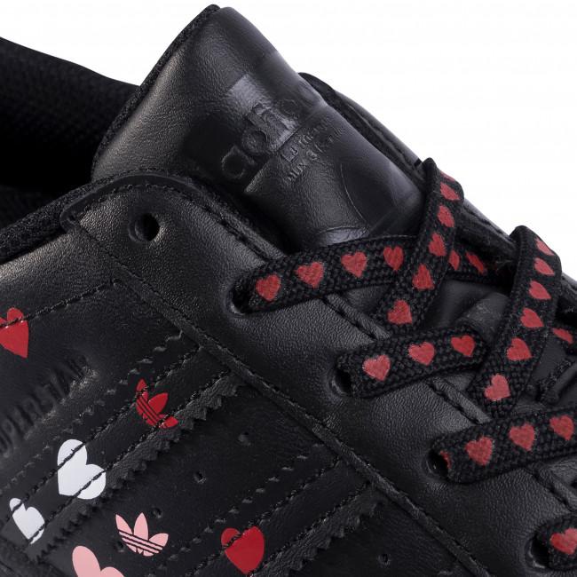 Scarpe adidas - Superstar W FV3288 Cblack/Ftwwht/Glopnk - Sneakers - Scarpe basse - Donna