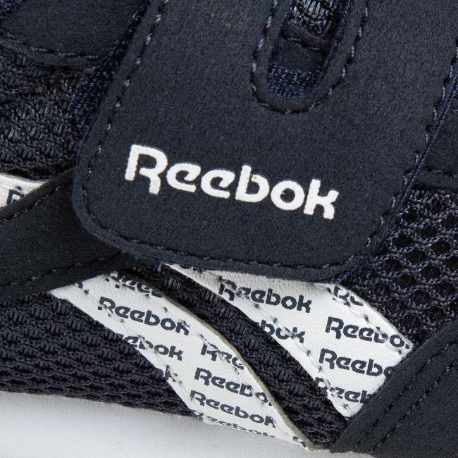 Scarpe Reebok - Royal Cljog 2 Kc EF3742 Conavy/White/Gum - Scarpe basse a strappi - Scarpe basse - Bambino - Bambino