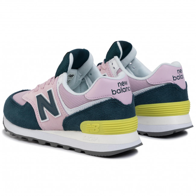 Sneakers NEW BALANCE - WL574NWB Rosa Verde