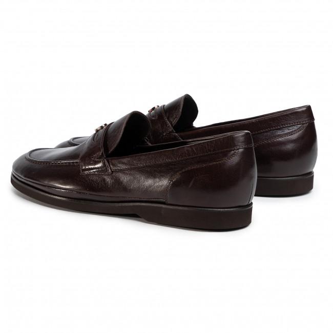 Mocassini AIGNER - Brand 5 2201850 Dark Brown 003 - Mocassini - Scarpe basse - Uomo