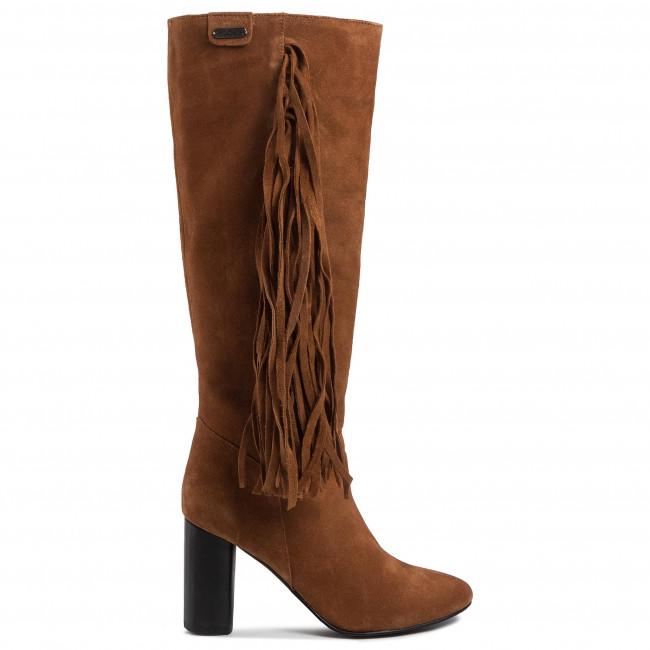 Stivali PEPE JEANS - Parson Fringers PLS50368 Tobacco 859 - Stivali - Stivali e altri - Donna